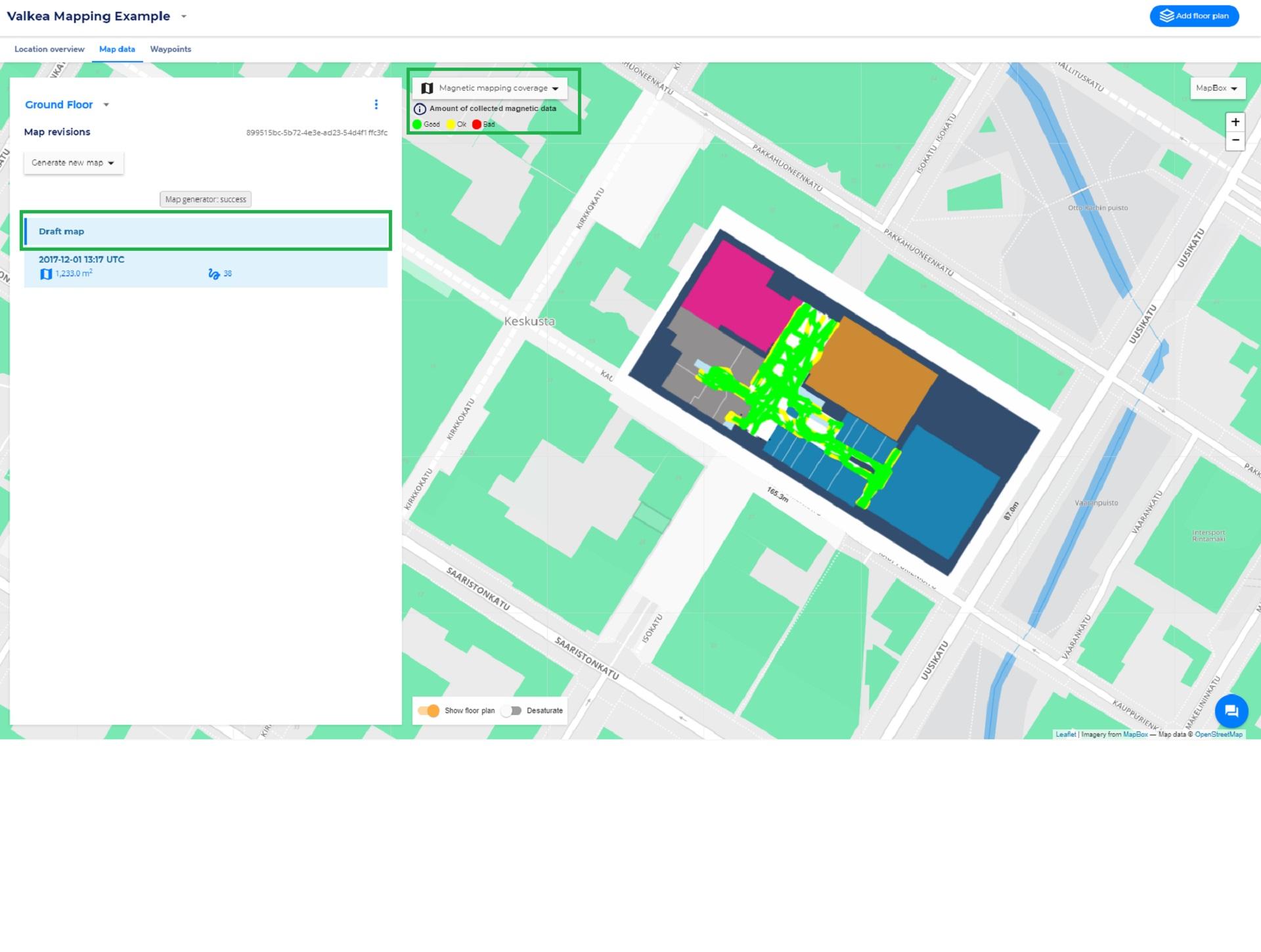 Mapping Analytics Overlays